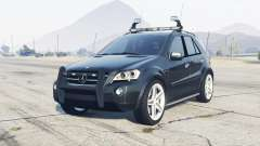 Mercedes-Benz ML 63 AMG (W164) 2009 FBI para GTA 5