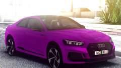 Audi RS5 Purple para GTA San Andreas