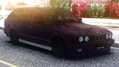 BMW E34 525 Purple para GTA San Andreas