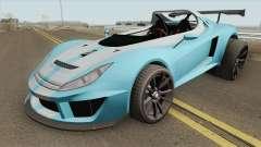 Ocelot Locust GTA V (3-Eleven Style) IVF para GTA San Andreas