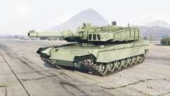 K2 Black Panther laurel green para GTA 5