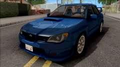 Subaru Impreza WRX STi Blue para GTA San Andreas