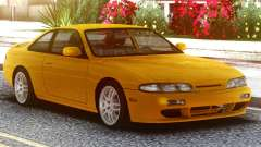 Nissan Silvia S14 Zenki Yellow para GTA San Andreas