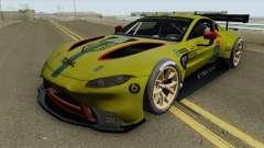 Aston Martin Vantage GT3 2019 para GTA San Andreas