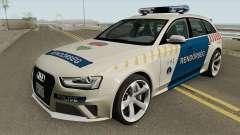 Audi RS4 Avant Magyar Rendorseg para GTA San Andreas