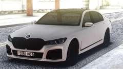 BMW 760Li White para GTA San Andreas