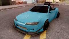 Nissan Silvia S15 Rocket Bunny Kart para GTA San Andreas