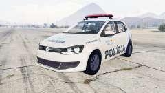 Volkswagen Gol 5-door Policia Militar Brasil para GTA 5