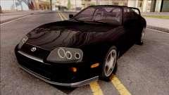 Toyota Supra Black para GTA San Andreas