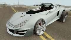 Ocelot Locust GTA V (Stock) IVF para GTA San Andreas