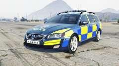 Volvo V70 2014 Essex Police para GTA 5