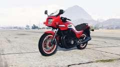 Kawasaki GPZ1100 pigment red para GTA 5
