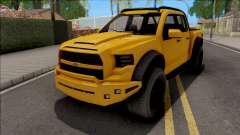 GTA V Vapid Caracara 4x4 IVF para GTA San Andreas