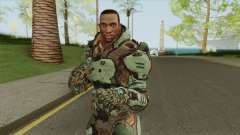 CJ (Doom 3 Style) para GTA San Andreas