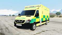 Mercedes-Benz Sprinter 2014 British Ambulance para GTA 5