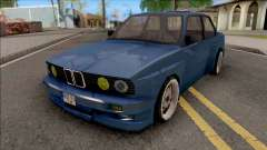 BMW E30 Fully Tunable IVF Lowpoly para GTA San Andreas
