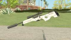 Winter Covert Sniper Rifle (007 Nightfire) para GTA San Andreas