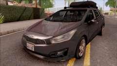 Kia Ceed Lowpoly para GTA San Andreas