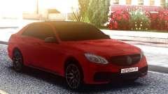Mercedes-Benz E63 AMG W212 Red para GTA San Andreas