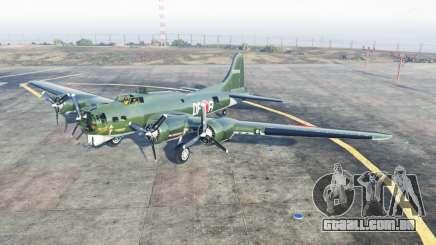 Boeing B-17 Fortaleza Flỿing para GTA 5