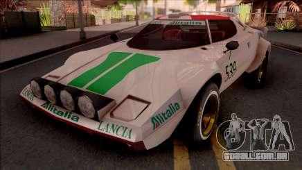 Lancia Stratos Transformers G1 Wheeljack para GTA San Andreas