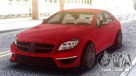 Mercedes-Benz CLS 63 AMG Red para GTA San Andreas