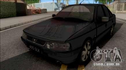 Peugeot 405 SLX para GTA San Andreas
