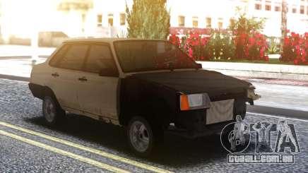 VAZ 21099 Quebrados e enferrujados para GTA San Andreas