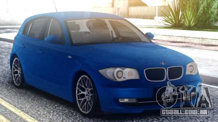 BMW 120i Blue para GTA San Andreas