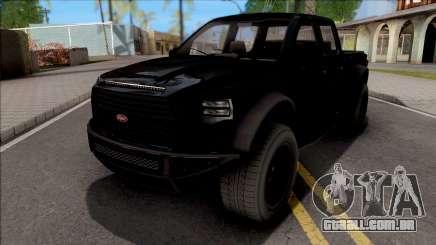 GTA V Vapid Caracara 4x4 Stock para GTA San Andreas