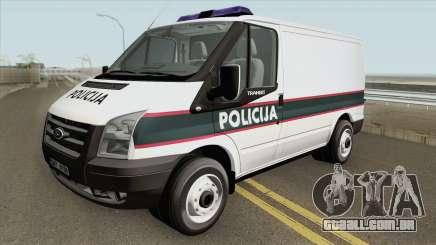 Ford Transit Policija MQ para GTA San Andreas