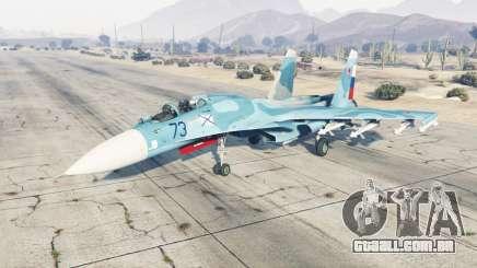 Su-33 soft-cor azul para GTA 5