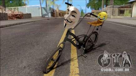 Modifiyeli Bisiklet para GTA San Andreas