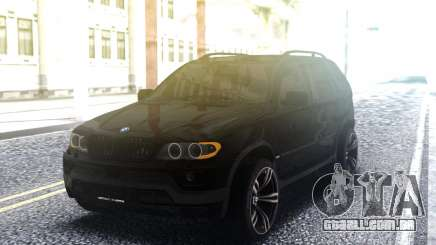 BMW X5 4 8is para GTA San Andreas
