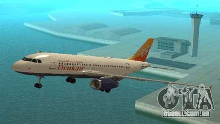 Druk Air (Royal Bhuth A Companhia Visa) Airbus A319-100 para GTA San Andreas