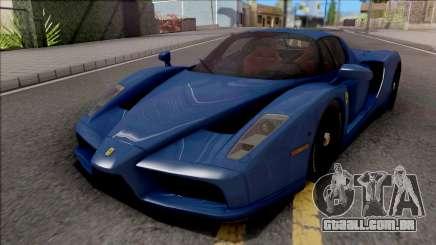 Ferrari Enzo 2002 Blue para GTA San Andreas