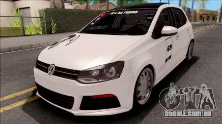 Volkswagen Polo 1.6 TDI-R Fumaça Preta para GTA San Andreas
