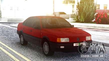 Volkswagen Passat B3 2.0 Red & Black para GTA San Andreas