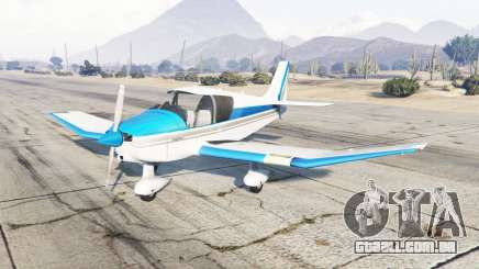Robin DR-400 vivid sky blue para GTA 5