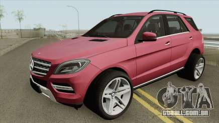 Mercedes-Benz ML Class 2013 para GTA San Andreas