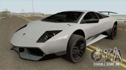 Lamborghini Murcielago LP 670-4 SV 2010 para GTA San Andreas