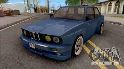 BMW E30 Fully Tunable IVF Lowpoly para GTA San Andreas