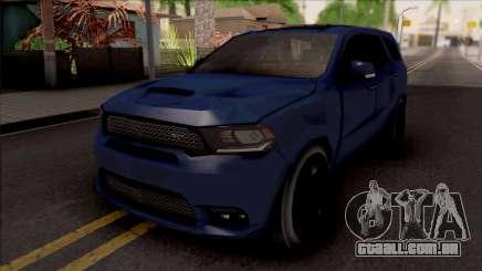 Dodge Durango SRT 2019 Lowpoly para GTA San Andreas