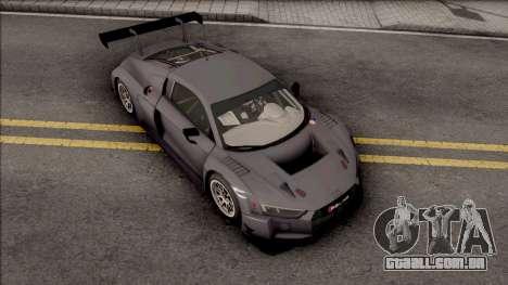 Audi R8 LMS 2016 Paint Job Preset 2 para GTA San Andreas