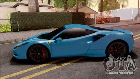Ferrari F8 Tributo 2020 para GTA San Andreas