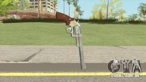 Smith And Wesson M29 Revolver (Chrome) para GTA San Andreas