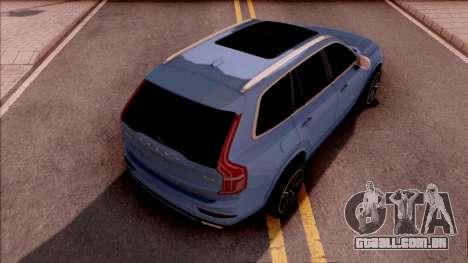 Volvo XC90 para GTA San Andreas