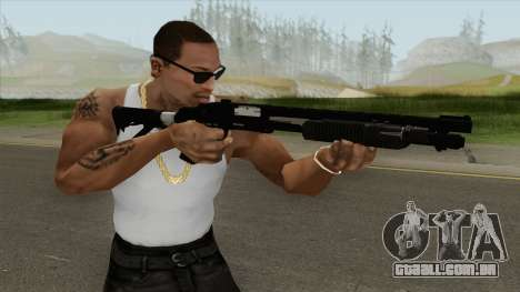 Shrewsbury Pump Shotgun GTA V V4 para GTA San Andreas