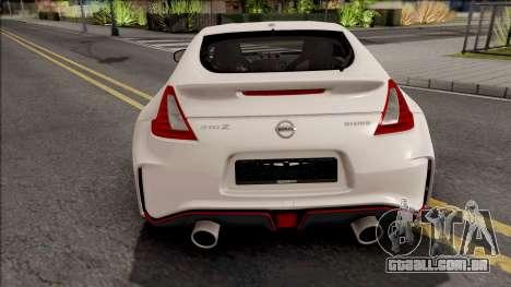 Nissan 370Z Nismo para GTA San Andreas