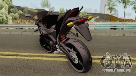 Honda CBR 125R Black para GTA San Andreas